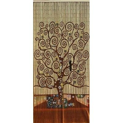 Beaded Door Curtains Bamboo Wall Hanging Drapes Room
