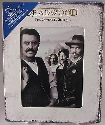 Deadwood - The Complete Series (Blu-ray Disc, HBO, 13-Disc Set) New