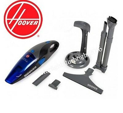 Cordless Handheld Vacuum Rechargeable Wet Dry Vac w/ Window Cleaner Car Curtain