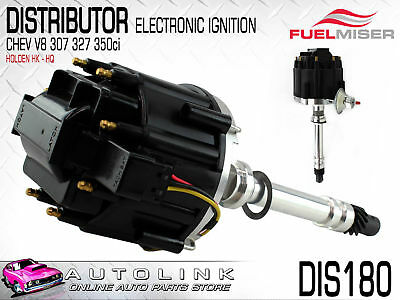 ELECTRONIC DISTRIBUTOR HIGH ENERGY WITH BUILT IN COIL SUIT CHEV 307 350ci V8