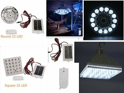 Industrial Grade Solar Powered Outdoor Led Garden Light Hang With Remote Control