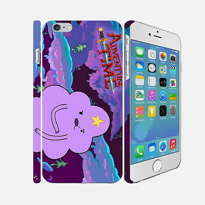 F030 Adventure Time - Apple iPhone 4 5 6 Hardshell Back Cover Case