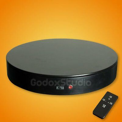 """[US] 24"""" / 50KG Remote Control Speed Direction Rotating Display Stand Turntable"""