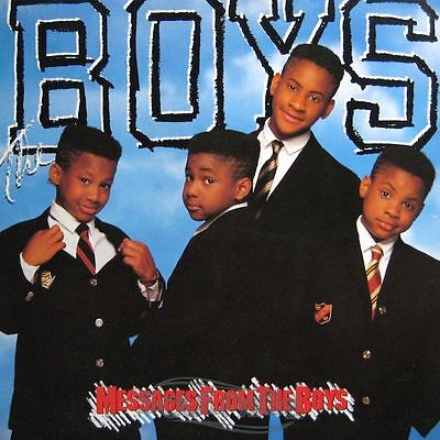 The Boys - Messages From The Boys - LP 1988 NM/NM