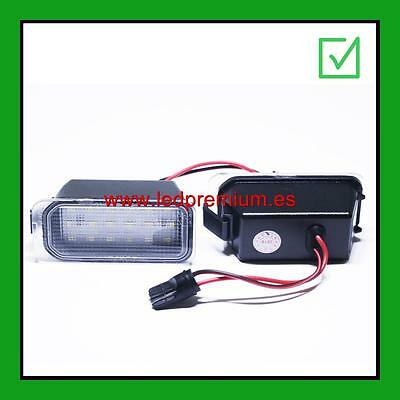ledpremium 2x LED NUMBER PLATE LIGHTS FORD MONDEO MK4 IV 4 CANBUS