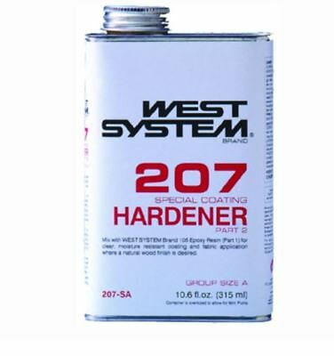 West Systems .66 Pt. Spec. Clear Hardener EA 207SA LC