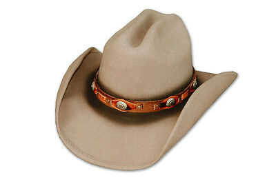 Chapeau Western Country mod: Barry 100% feutre