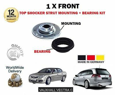 For Vauxhall Opel Vectra C 2002-2008 New 1X Front Top Shocker Mounting + Bearing