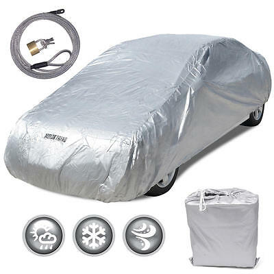 New Full Car Cover Deluxe All Weather UV Waterproof fit 2003 - 2015 Toyota Prius