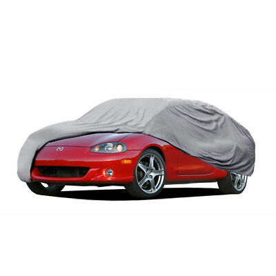 Car Cover for Mazda Miata MX5 Outdoor Waterproof All Weather Breathable 3 Layers