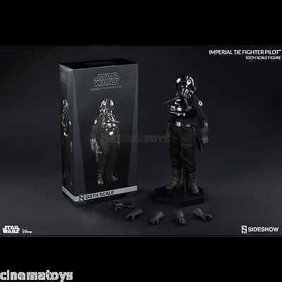 STAR WARS Imperial TIE Fighter Pilot Sixth Action Figure Scale Figure Sideshow