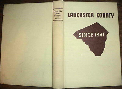 1955 Lancaster County Pennsylvania Since 1841 History Early Settlers Pioneers+++
