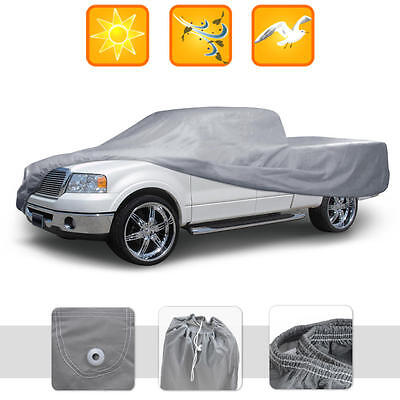 Dust Proof Pickup Truck Cover Indoor Deluxe Breathable Full-Size Extended Cab