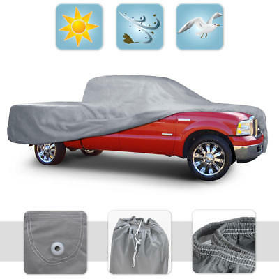 Dust Proof Pickup Truck Cover Indoor Deluxe Breathable Full-Size Crew Cab