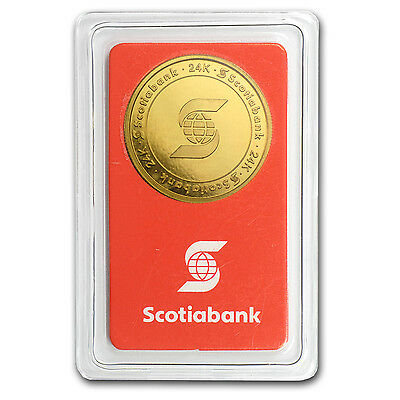 1/2 oz Gold Round - Scotiabank (In Assay) - SKU #50867