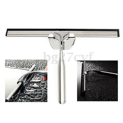 Stainless Steel Squeegee Glass Wiper Cleaner Mirror Screen Tile Car Blade Shower