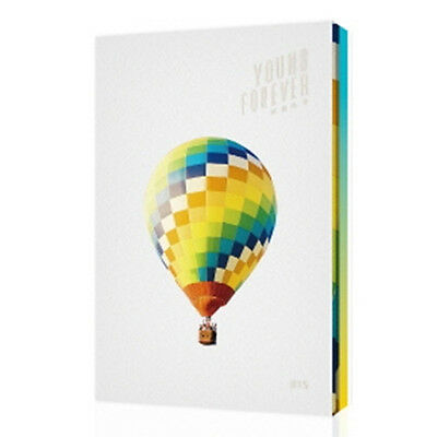 BTS-[YOUNG FOREVER] Special Album DAY 2CD+POSTER+Photo Book+1p Card K-POP SEALED