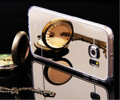HOUSSE ETUI COQUE SILICONE GEL Electroplating MIRROR CASE pour Samsung Galaxy S7