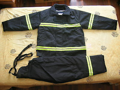 02's series China CAPF Fire brigade Firefighter Fire Coat and Fire Trousers,New.