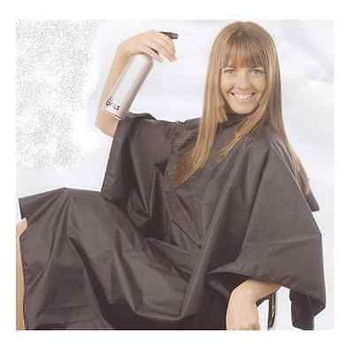Hair Tools BLACK Tint Proof Salon Hairdressing Cutting Gown Water Resistant