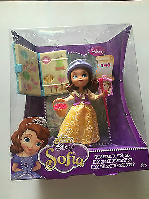 Disney Sofia The First Buttercup Badges Scout Doll Brand New Mattel