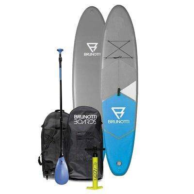 BRUNOTTI FAT Ferry iSUP Stand Up Paddle Surfboard SUP Paddelboard mit Paddel