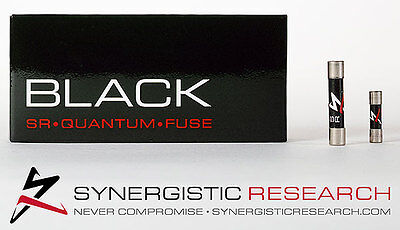 SYNERGISTIC RESEARCH - Fusible Black - Ultra Haute Performance - 5x20mm - LENT