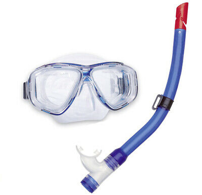 Aqua Lung Set Bali Maske + Pro Junior Schnorchel Blau