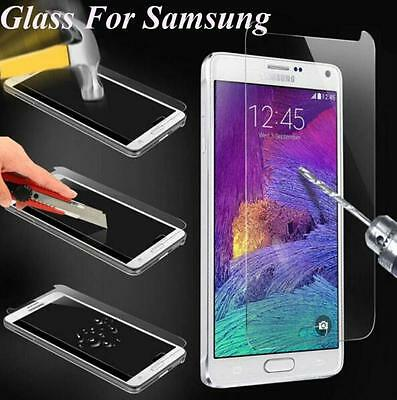 100% Genuine Gorilla Tempered Glass Film Screen Protector For Samsung Model