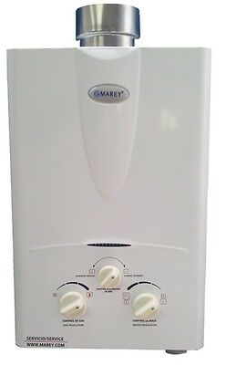 Tankless On Demand Hot Water Heater Natural Gas 2.0 GPM Marey GA5NG Marey