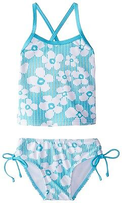 Kanu Surf Baby Girls' Kate Floral Tankini - 12 MONTHS - BLUE - NWT's