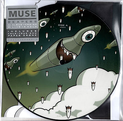 "MUSE reapers 7"" PICTURE DISC exclusive RSD 2016"