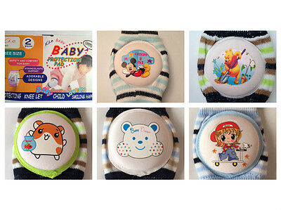 Hot Sell Cute Baby Toddler For Boy Crawling Knee Pads Protector ( Random Sent )