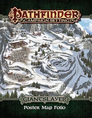 Pathfinder Campaign Setting: Giantslayer Poster Map Folio PZO 9282