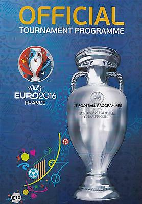 * Euro 2016 Official Tournament Programme (European Championships France 2016) *