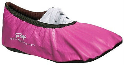 Robbys Pink Bowling Shoe Covers Size Medium