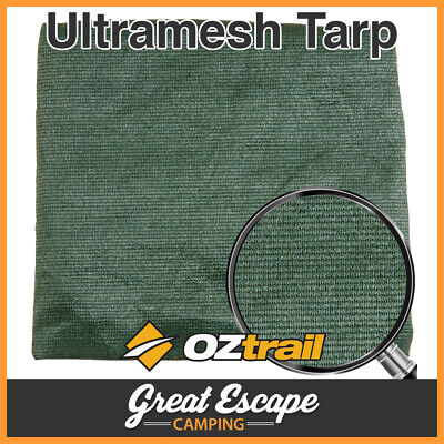 OZtrail Ultramesh Tarp 10x20 Outdoor Shield & Camping Shade Cloth