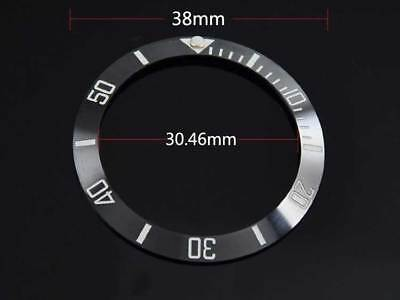 black ceramic bezel insert for 40mm sub watch made by parnis factory