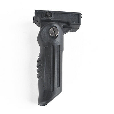 Hunting Folding Foldable Foregrip 2 Position for Picatinny/Weaver Rail Type New