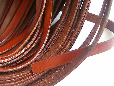 Brown 8mm/10mm Flat High Quality Available Thong Leather Cord Jewellery Making