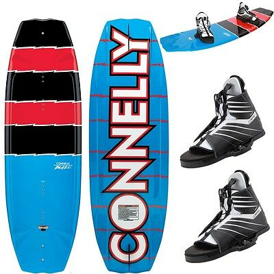CONNELLY BLAZE 140 Wakeboard Package HALE Wakeboard Bindung Blue