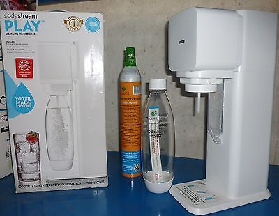 SodaStream Play Machine 15 litres of sparkling water - White PR179