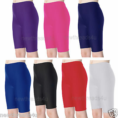 Kids Girls Boys Cycling Shorts Lycra Shorts Children PE Games Gym Dance Shorts