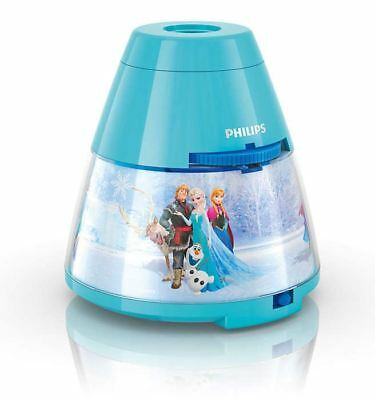 Philips Disney Frozen 2 In 1 Led Projector & Children's Bedroom Night Light