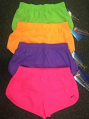 Uzzi Men/Ladies Lightweight Fast Drying Bright Colors Running Shorts