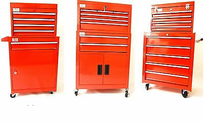 New Tool Chest Top Cabinet Top Box And Rollcab Box Us Ball Bearing Slides Large