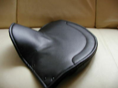 new lycett seatcover LARGE LYCETTE SOLO seat saddle COVER BSA TRIUMPH NORTON