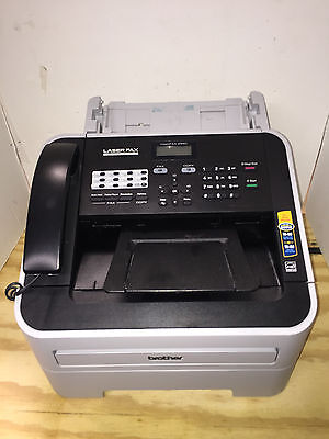 Brother Fax Machine Model 2940 - Page Count Just 7 - Floor Model
