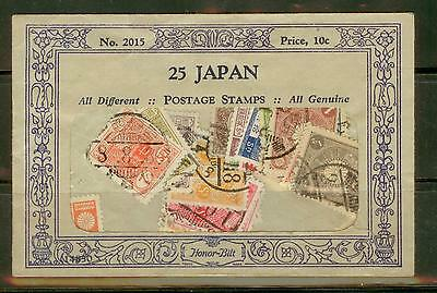 old Japan un-opened stamp packet