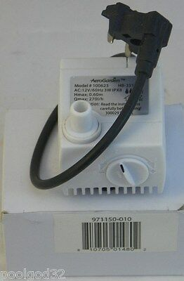 Aerogrow AeroGarden 7 Replacement hydroponic Pump Model 100623 With FREE FILTER